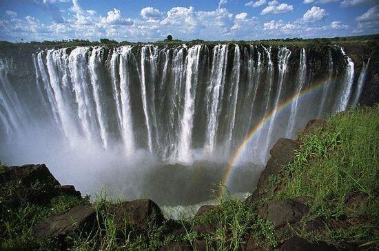 Victoria watervallen Zimbabwe