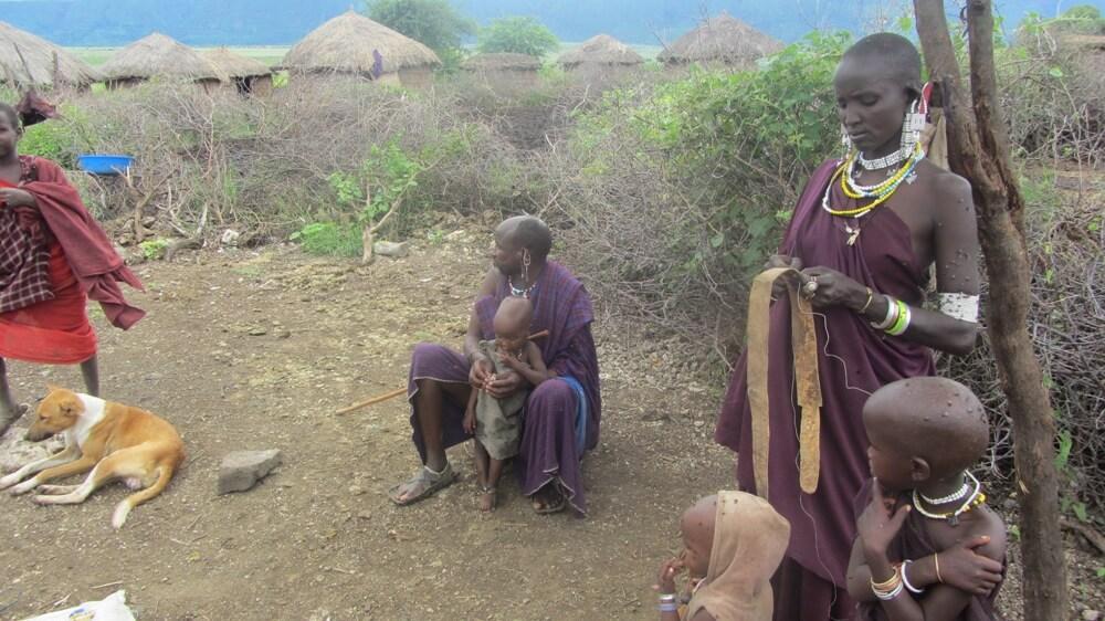 Bezoek dorp Maasai gids Tanzania