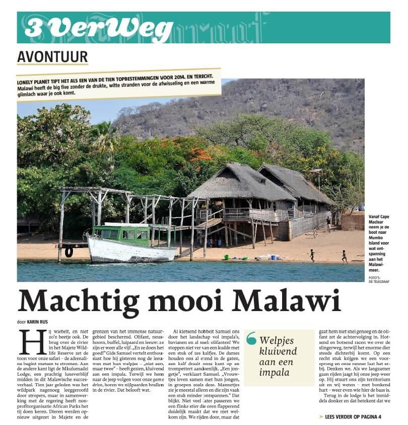 Machtig mooi Malawi