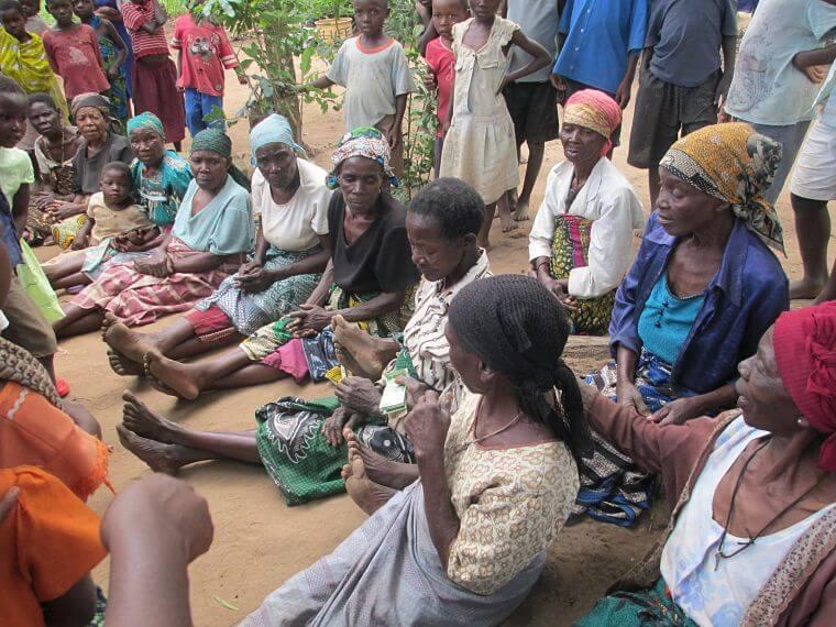 Dorpsbezoek in Blantyre Malawi het warme hart van Afrika
