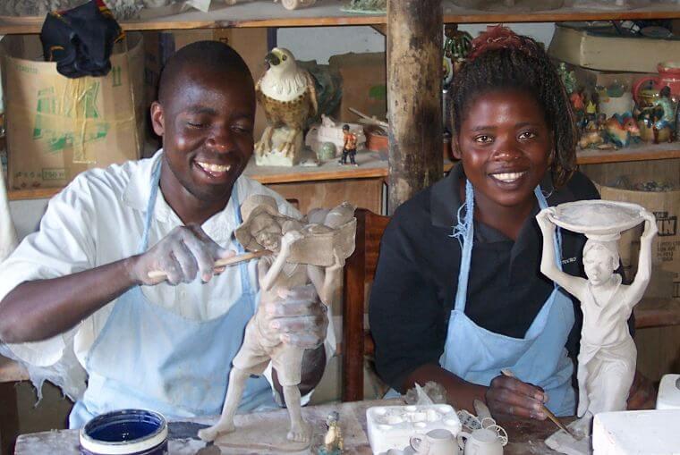 Dedza Pottery traditioneel aardewerk Malawi