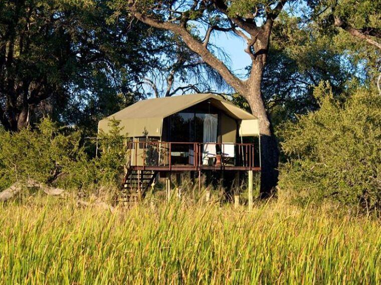 Nkasa Lupala Tented Lodge Caprivi Strip Namibië