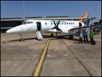 Proflight Zambia Lusaka naar Livingstone