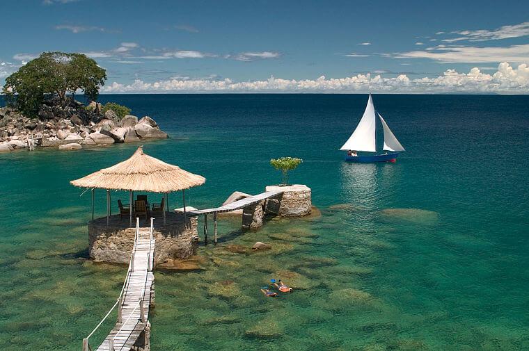 Relaxen bij Kaya Mawa Likoma Island Lake Malawi