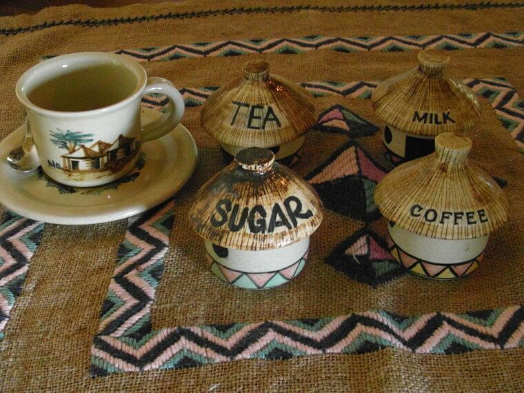 Traditioneel aardewerk uit Dedza in Malawi