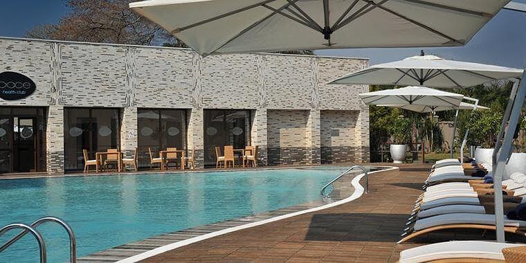 Zwembad Radisson Blu Hotel Lusaka Zambia