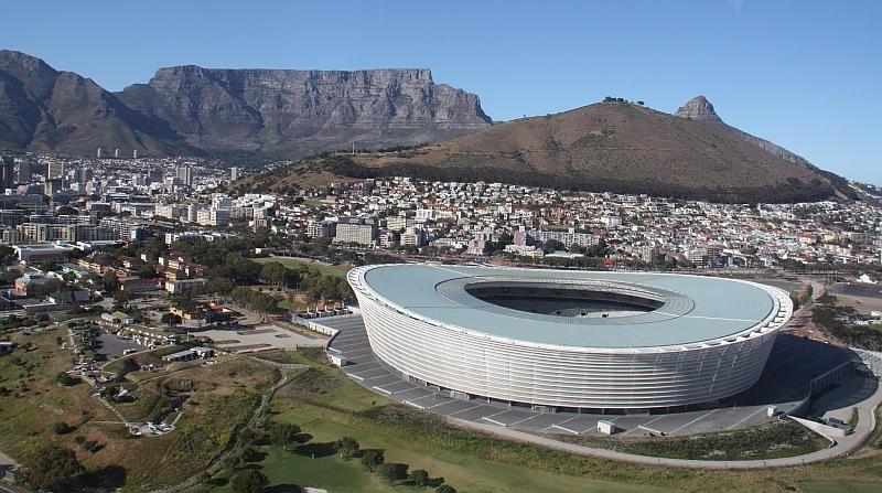 Kaapstad met Tafelberg Zuid-Afrika