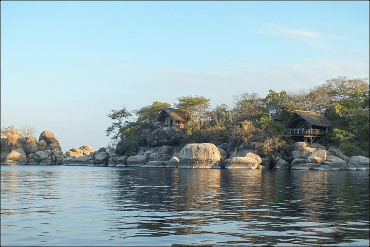 Relaxen op Mumbo Island Lake Malawi