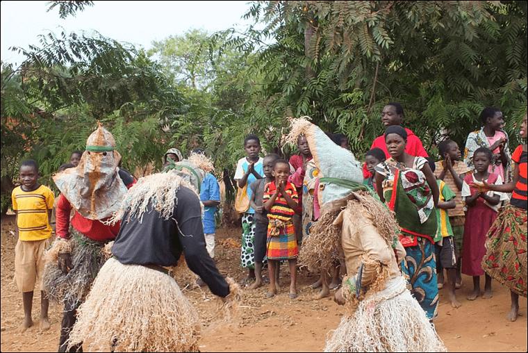Viering begrafenis in Malawi