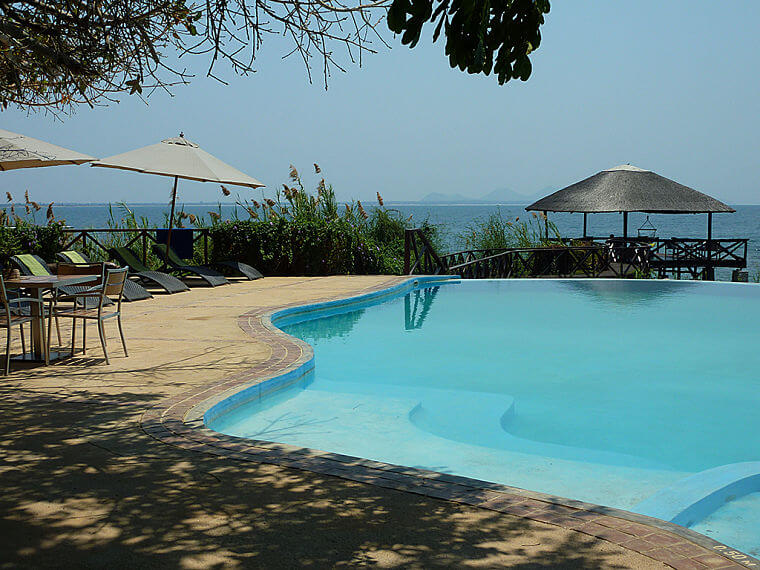 Blue Zebra Island Lodge in Lake Malawi