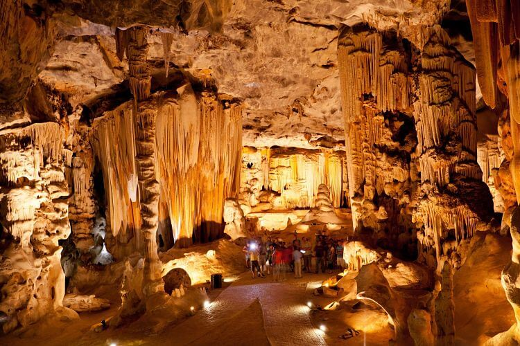 Cango Caves in Oudtshoorn Zuid Afrika