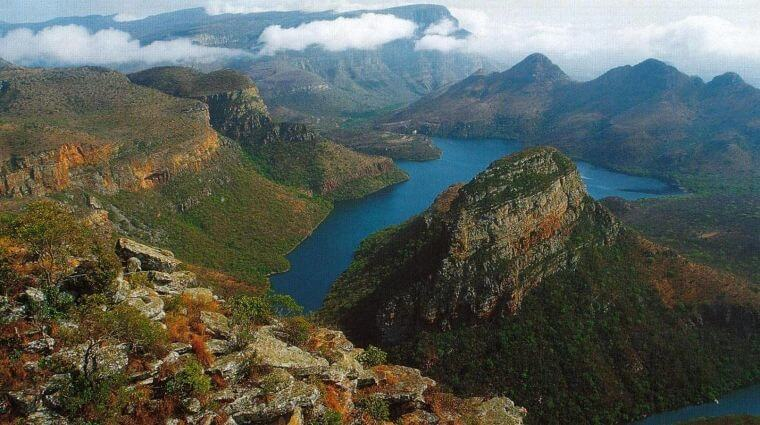 The Blyde River Canyon Zuid-Afrika