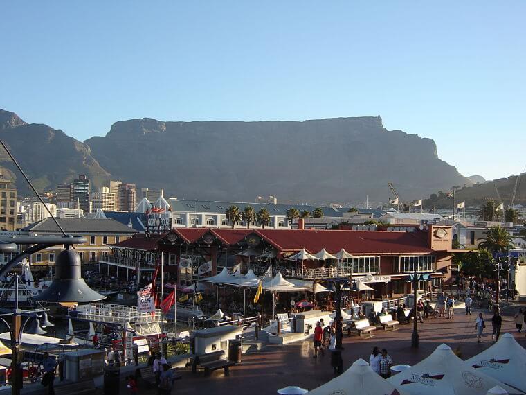 Waterfront Kaapstad, Zuid-Afrika
