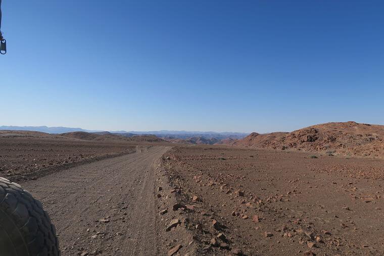 Damaraland Namibië