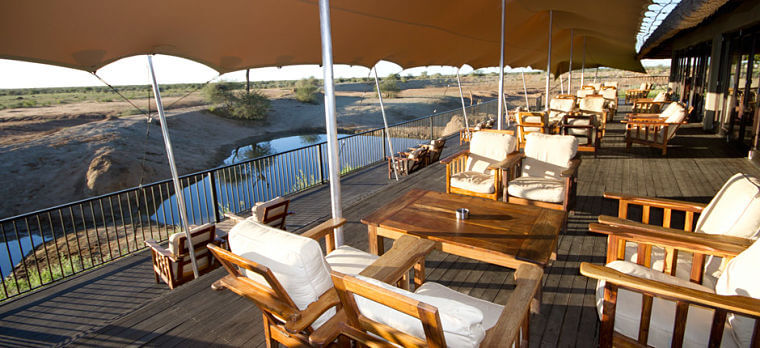 Old Traders Lodge in Erindi Game Reserve