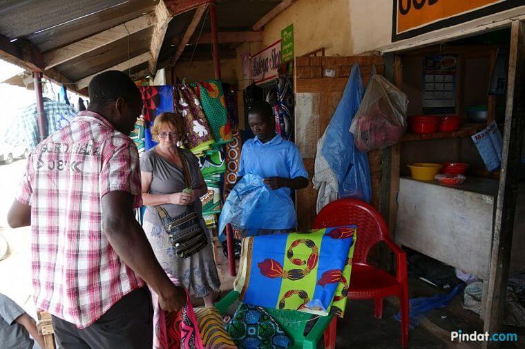 Onderweg shoppen in Malawi