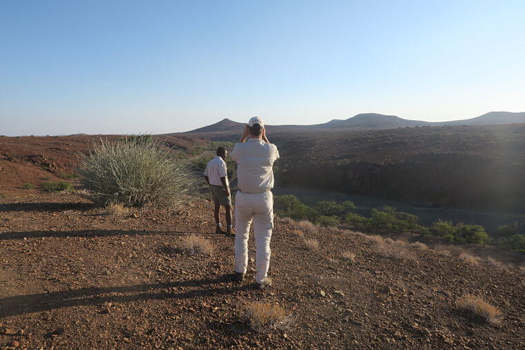 Palmwag concessie in Damaraland Namibië