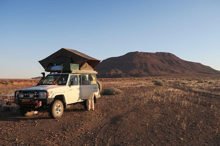 Selfdrive in Kaokoland in Namibië is als een expeditie