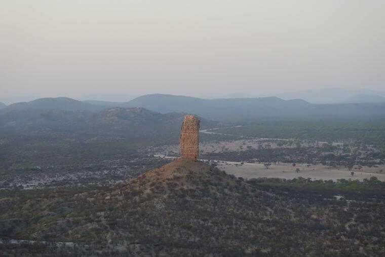 Damaraland Vingerklip Namibië