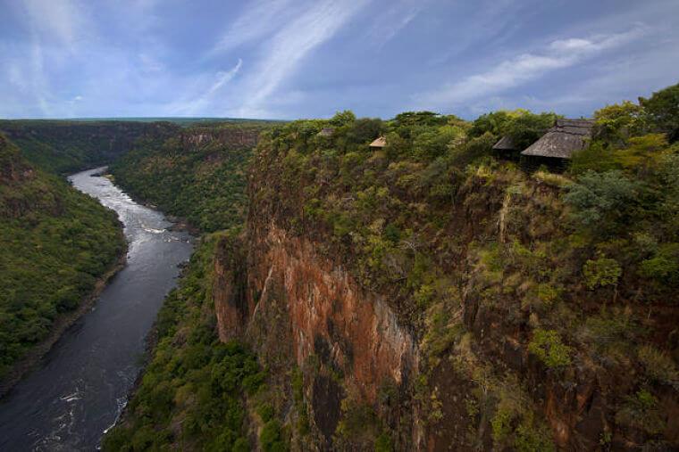 Victoria watervallen Gorges Lodge