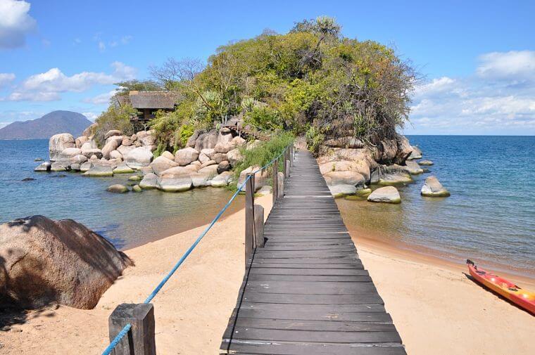 Mumbo Island in Lake Malawi