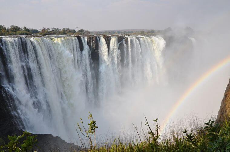 Victoria watervallen Zambia