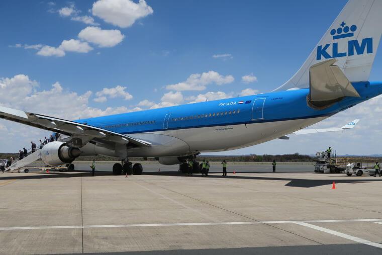 KLM vliegt rechtstreeks op Windhoek in Namibië