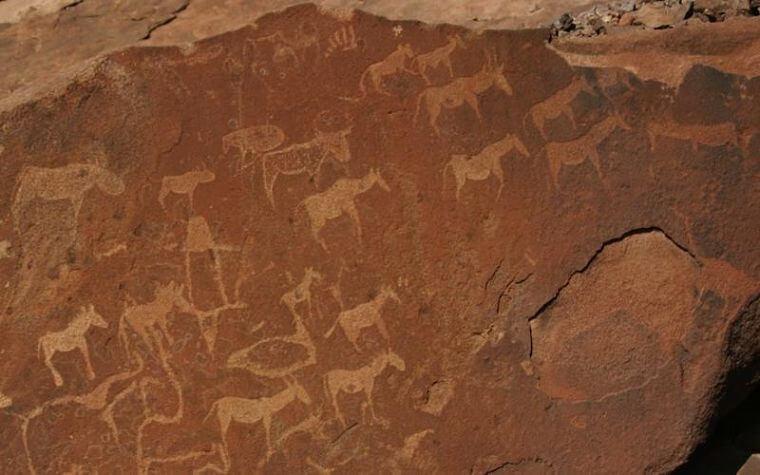 Twyfelfontein rotstekeningen
