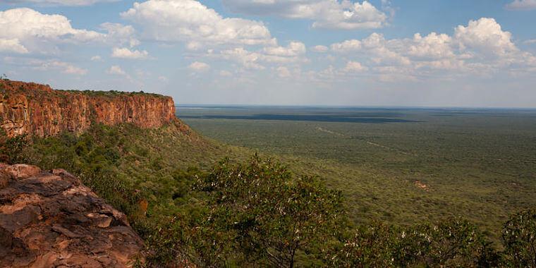 Waterberg plateau Conservancy National Park, Namibië