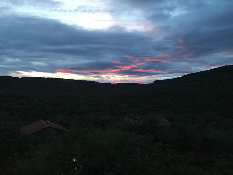 Familie Prinsze op Waterberg Plateau Namibië