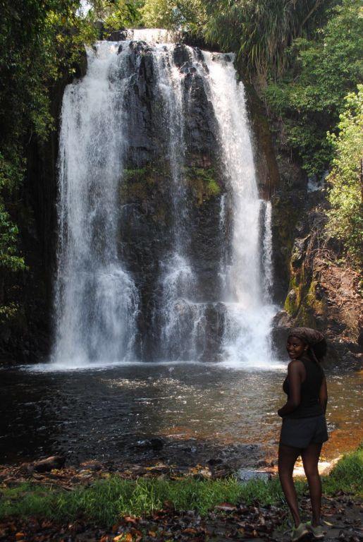 Nyambwezi Falls Zambia