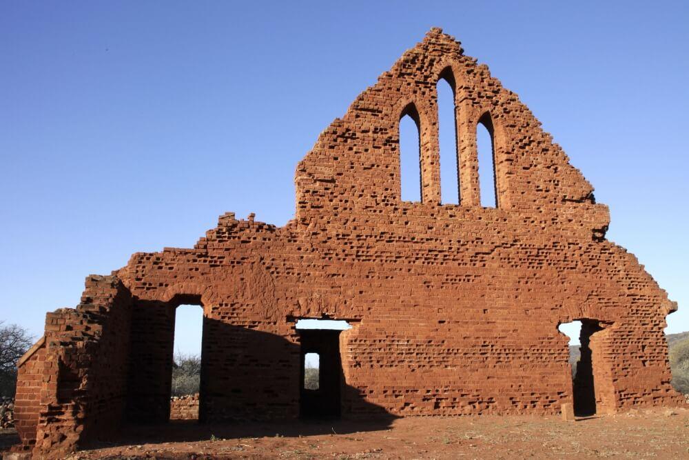 Old Palapye in Botswana
