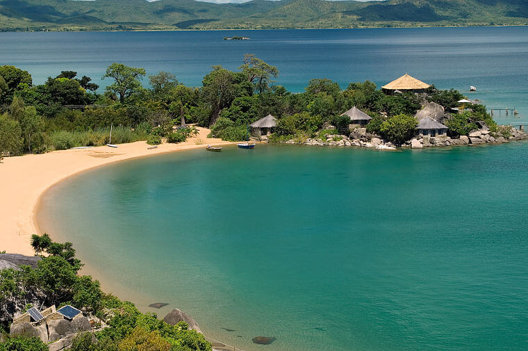 Kaya Mawa Lodge Likoma Island in Lake Malawi