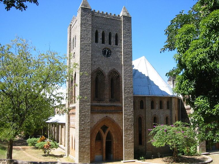 Sint Pieters Kathedraal Likoma Island Malawi