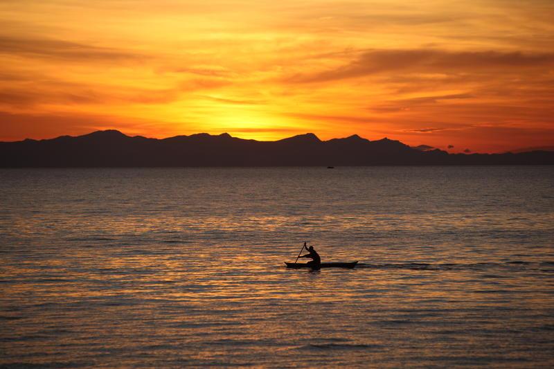 Zonsondergang Marelli Islands Malawi