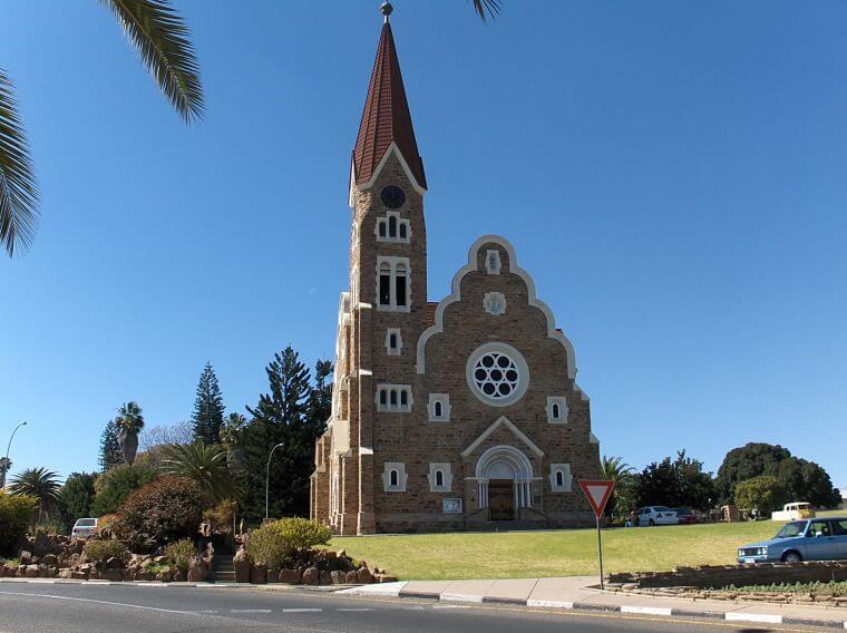 Christ Church in hartje Windhoek