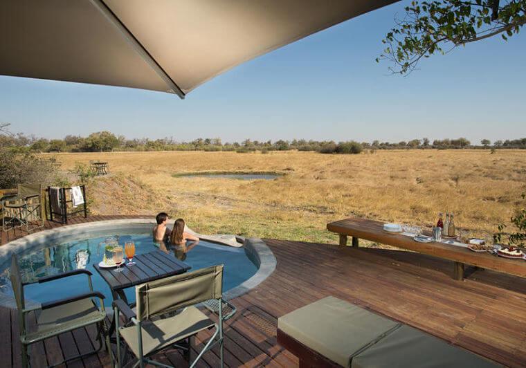 Little Machaba zwembad met uitzicht @ Andrew Howard