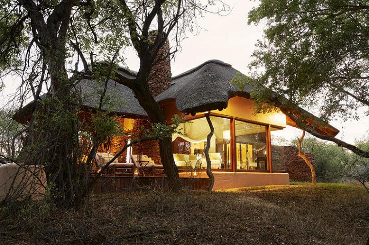 Makanyane Safari Lodge exterieur kamers