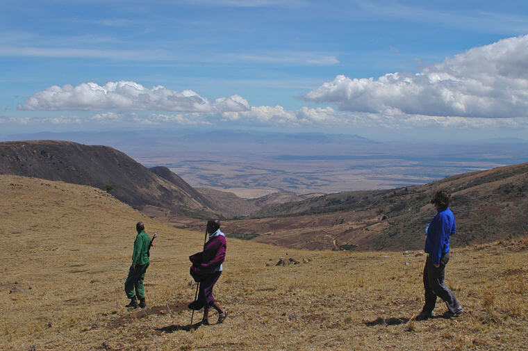 Ngorongoro Crater wandel safari