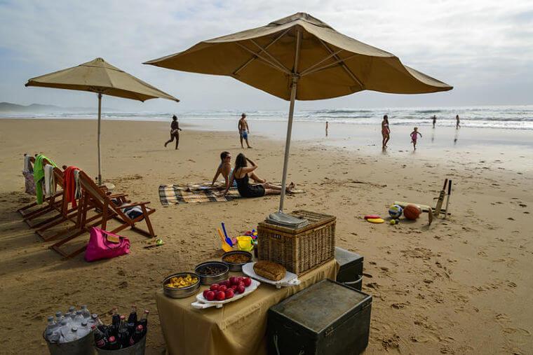 Phinda Forest Lodge relaxen aan het strand Zuid-Afrika
