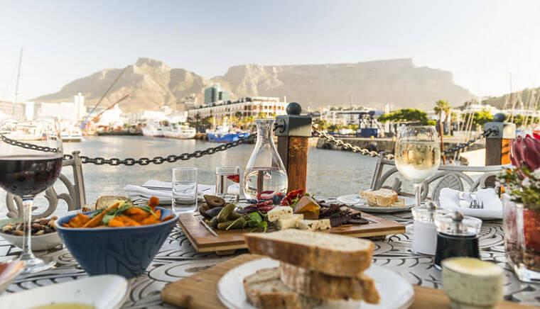 Victoria & Alfred Ginja restaurant Kaapstad Zuid-Afrika (@Newmark Hotels Reserves Lodges)