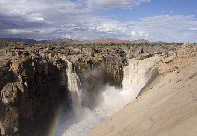 Augrabies Falls National Park in Zuid-Afrika