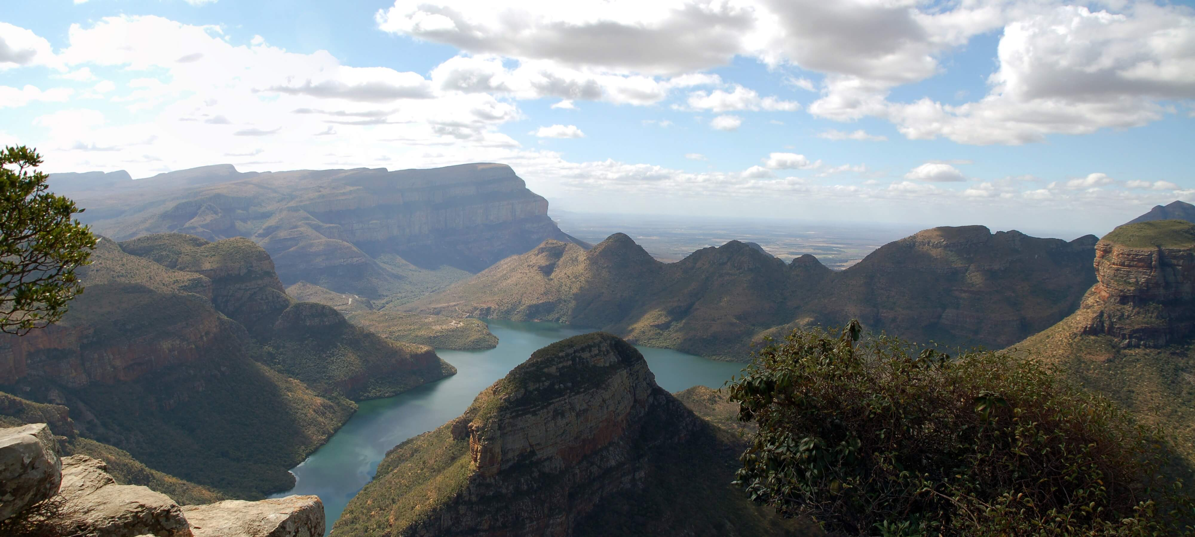Blyde River Canyon Panorama route Zuid-Afrika