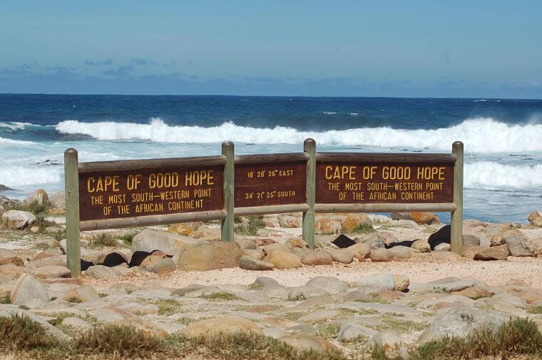 Kaap de Goede Hoop bij Kaapstad Zuid-Afrika