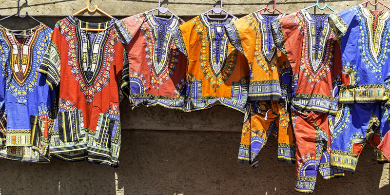 Kleurrijk Soweto Zuid-Afrika (@iStock)