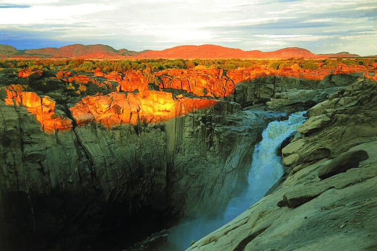 Augrabies Falls Noord Kaap Zuid-Afrika