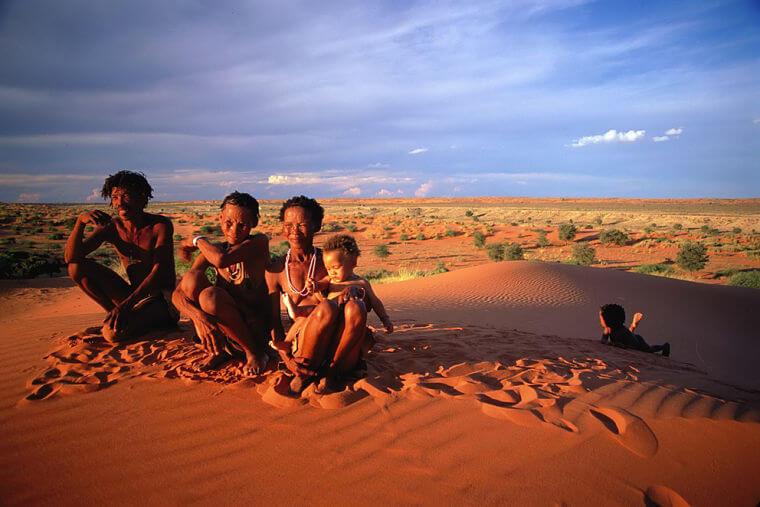Noord Kaap Khomani Sun Zuid-Afrika