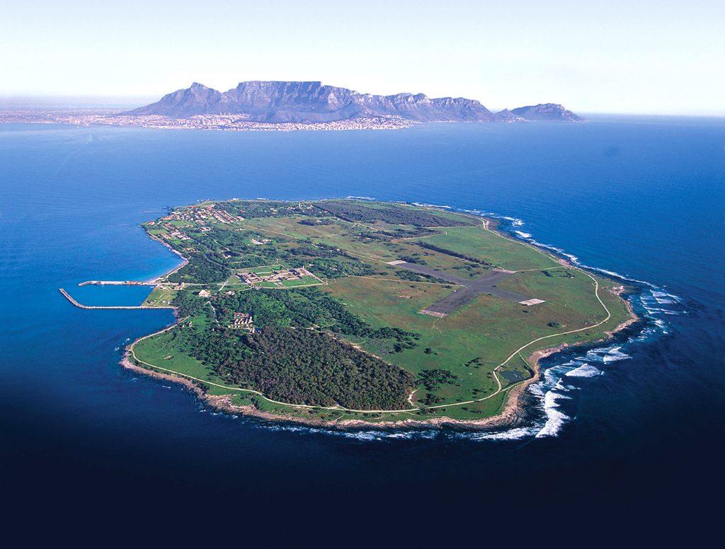 Robben Island in Kaapstad Zuid-Afrika
