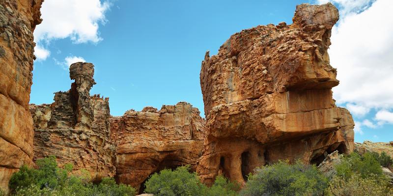 Spectaculaire rotsformaties in Cederberg Wilderness Area Zuid-Afrika