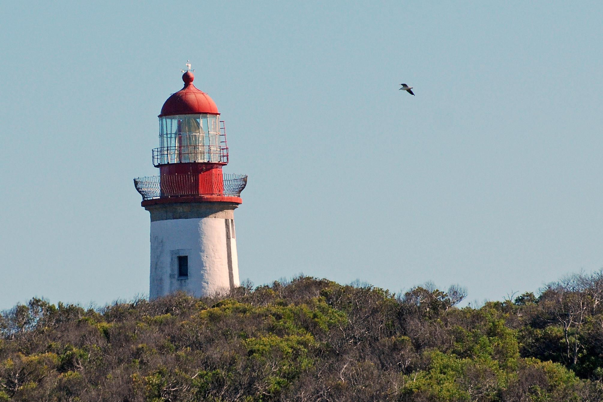 Vuurtoren van Robben Island Zuid-Afrika
